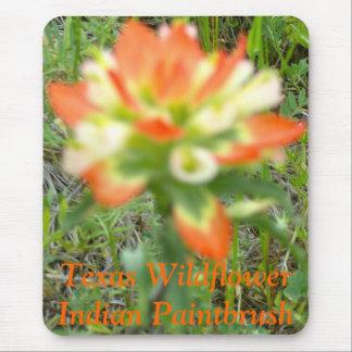 Tapis De Souris Fleur sauvage du Texas - pinceau indien