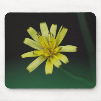Tapis De Souris Fleur sauvage Mousepad floral de jaune de mauvaise