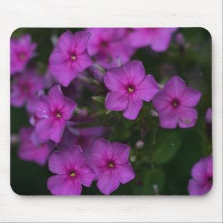 Tapis De Souris Fleur sauvage Mousepad floral de rose de Phlox de