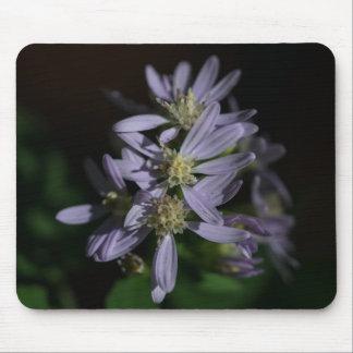 Tapis De Souris Fleur sauvage pourpre Mousepad d'automne de