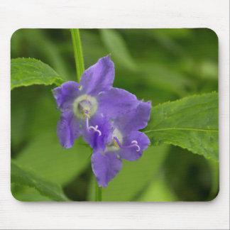Tapis De Souris Fleur sauvage pourpre Mousepad de campanule