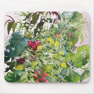 Tapis De Souris Fleurs sauvages avec la consoude et la lychnide