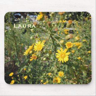 Tapis De Souris Fleurs sauvages jaunes