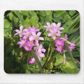 Tapis De Souris Fleurs sauvages roses sensibles de ressort