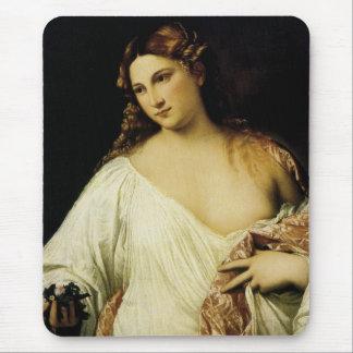 Tapis De Souris Flora, par Titian