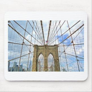 Tapis De Souris Fondation de ville de New York Brooklyn de pont
