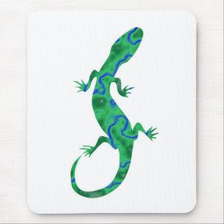 Tapis De Souris Gecko Deco de sorte vert