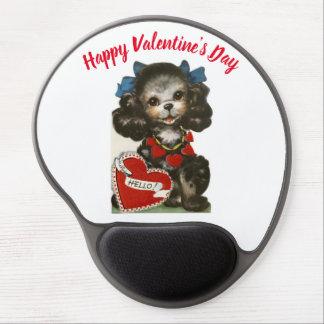 Tapis De Souris Gel Chiot vintage de Valentine