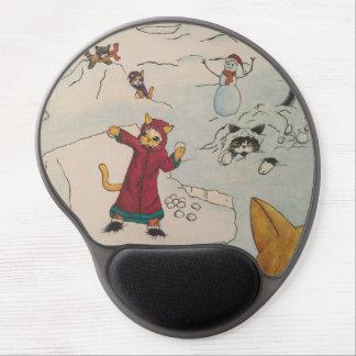 Tapis De Souris Gel Combat de Snowball