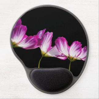 Tapis De Souris Gel Destin floral de destin de vignes de fleurs de