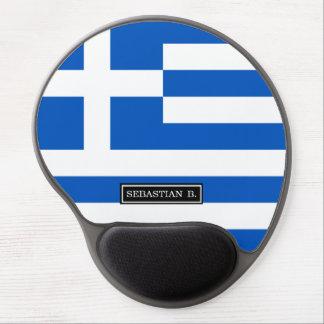 Tapis De Souris Gel Drapeau de la Grèce