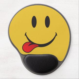 Tapis De Souris Gel Drôle et mignon collant la langue Emoji