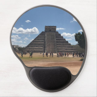 Tapis De Souris Gel EL Castillo - Chichen Itza, gel Mousepad du
