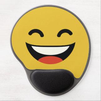 Tapis De Souris Gel Emoji lumineux de sourire de Supre
