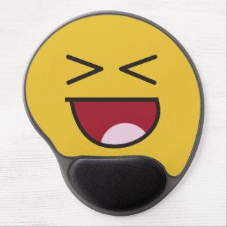 Tapis De Souris Gel Emoji riant observé croisé drôle