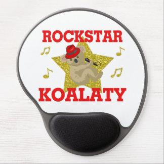 Tapis De Souris Gel Fêtard de chant de Rockstar Koalaty