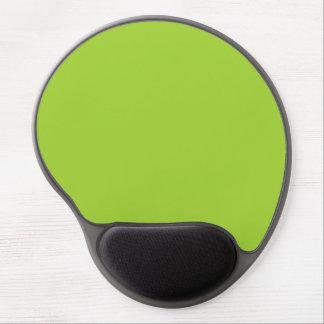 Tapis De Souris Gel Fond clair personnalisé par vert de couleur de