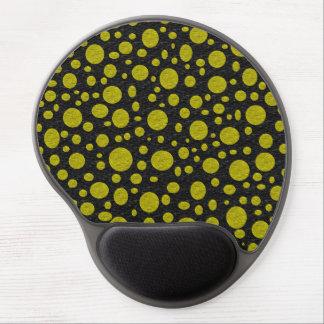 Tapis De Souris Gel Gel d'or Mousepad de bulles
