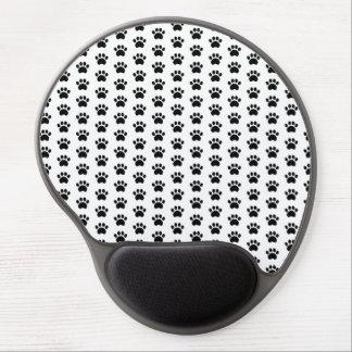 Tapis De Souris Gel Gel mignon Mousepad de motif d'empreinte de patte
