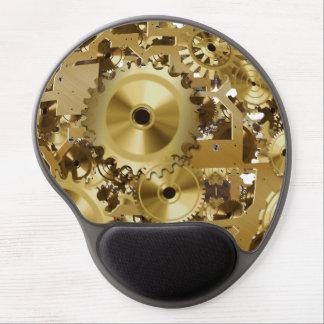 Tapis De Souris Gel Gel moderne Mousepad de moteur d'horloge