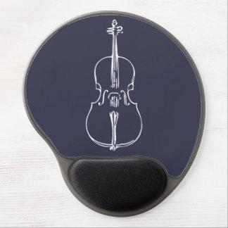 Tapis De Souris Gel Gel Mousepad avec le violoncelle