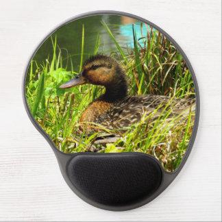 Tapis De Souris Gel Gel Mousepad de canard d'emboîtement