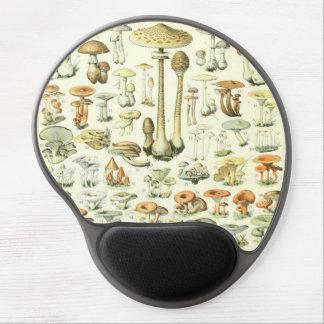 Tapis De Souris Gel Gel Mousepad de champignons