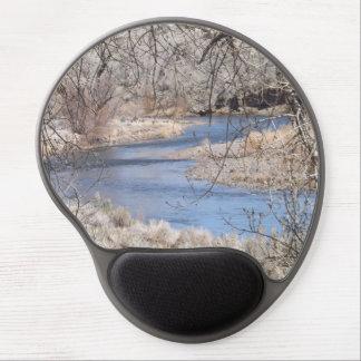 Tapis De Souris Gel Gel Mousepad de courbure de rivière