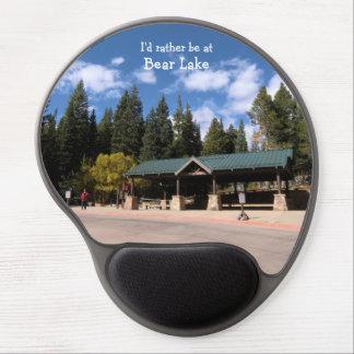 Tapis De Souris Gel Gel Mousepad de lac bear de parc national de