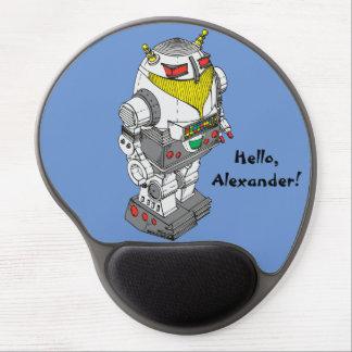 Tapis De Souris Gel Gel Mousepad de nouveauté de robot de jouet