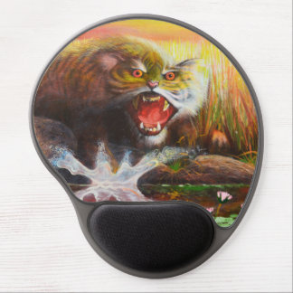 Tapis De Souris Gel Gel mousepad. de petit animal de tigre