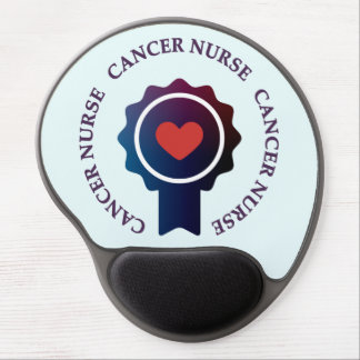 Tapis De Souris Gel Gel Mousepad d'infirmière de Cancer