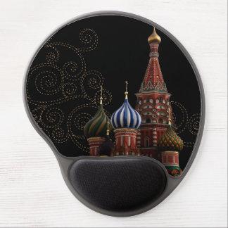 Tapis De Souris Gel Gel Mousepads de cathédrale de St Basil de Moscou
