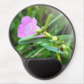 Tapis De Souris Gel Gel pourpre minuscule Mousepad de fleur