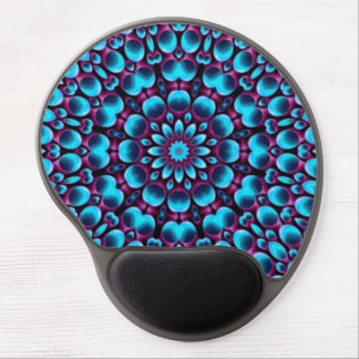 Tapis De Souris Gel Gel vintage Mousepad de kaléidoscope de joueur de