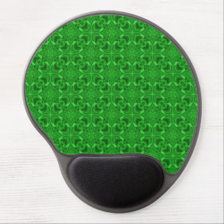Tapis De Souris Gel Gel vintage Mousepad de kaléidoscope   de trèfle