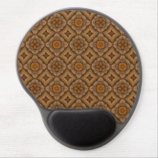 Tapis De Souris Gel Gel vintage Mousepad de kaléidoscope d'échelles