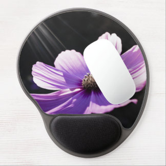 Tapis De Souris Gel La fleur pourpre fleurit destin de destin de