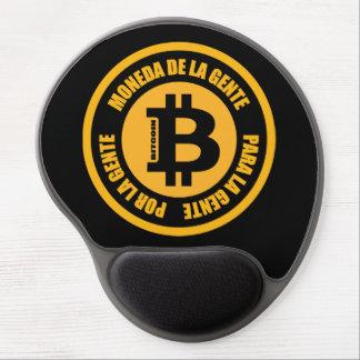 Tapis De Souris Gel La Gente de Bitcoin Moneda De La Gente Para Gente