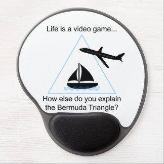 Tapis De Souris Gel La vie est un gel Mousepad de jeu vidéo