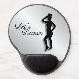 Tapis De Souris Gel Le danseur de claquettes nous a laissés danser