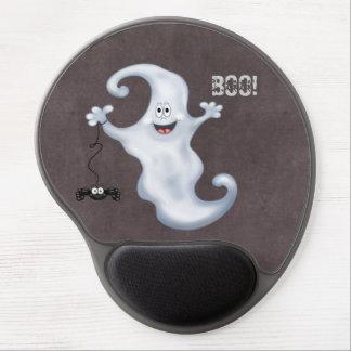 Tapis De Souris Gel Le fantôme de Halloween huent