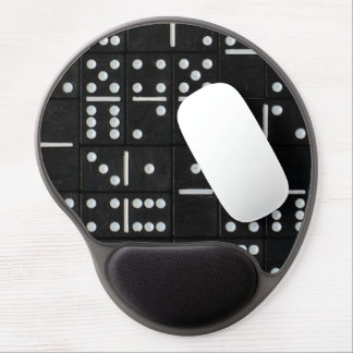 Tapis De Souris Gel Le jeu de domino rapièce le gel Mousepad de B&W