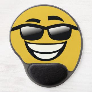 Tapis De Souris Gel Le mauvais au type Emoji de cool d'os