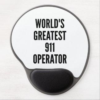Tapis De Souris Gel Le plus grand opérateur 911 des mondes