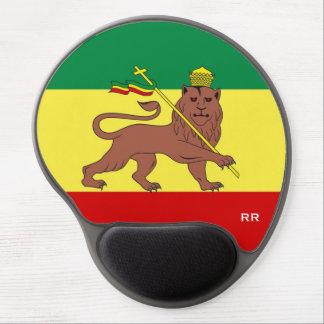 Tapis De Souris Gel Lion de reggae de Rasta de bébé de reggae de Judah