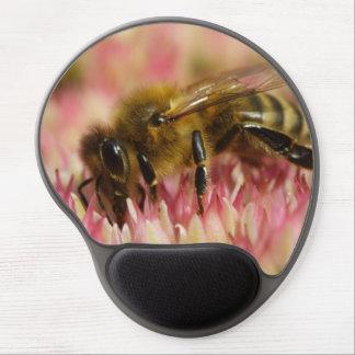 Tapis De Souris Gel Macro occidental d'abeille de miel