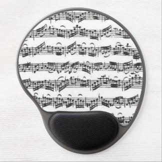 Tapis De Souris Gel Manuscrit de musique de suite de violoncelle de