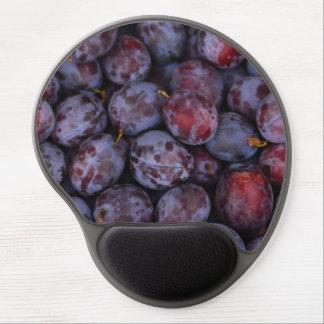 Tapis De Souris Gel Motif pourpre de fruit de prunes