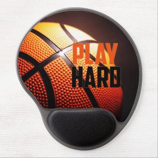 Tapis De Souris Gel Motivation de basket-ball - jeu dur par le